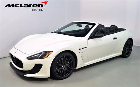 maserati sport convertible 2013 maserati granturismo mc convertible sport for sale in