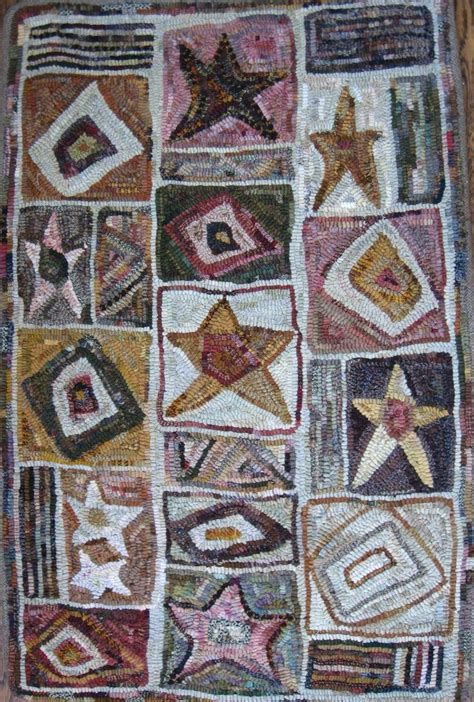 needle punch rugs 672 best hooked rugs geometrics images on punch needle rug ideas and locker hooking