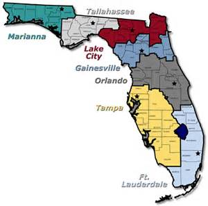 florida offenders map administrative service centers 98 99 annual report