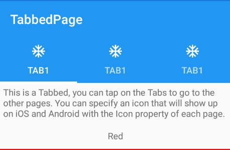 xamarin.forms android selected & unselected tab colors