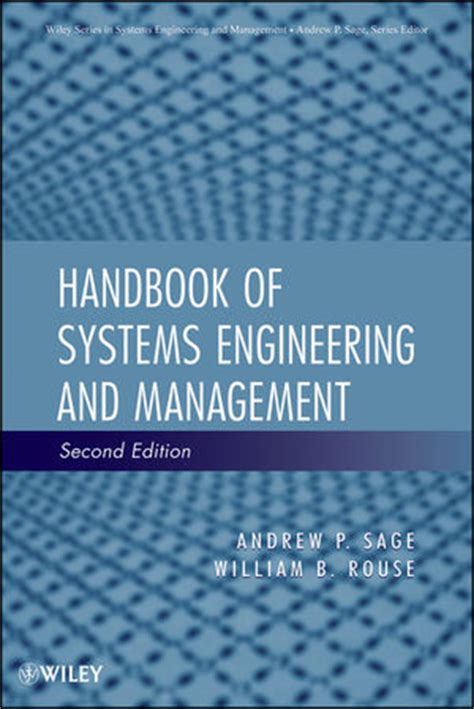 It Systems Management 2nd Edition wiley handbook of systems engineering and management 2nd