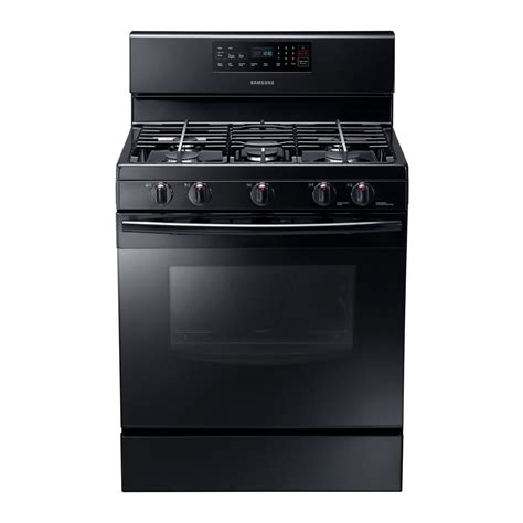 Oven Samsung samsung nx58f5500s 30 in gas range with custom griddle and 5 8 cu ft self clean oven atg stores