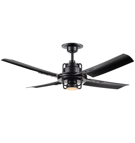 black blade ceiling fan trend black ceiling fan with light and remote 23 for your