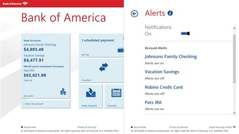 bank of america app store object moved