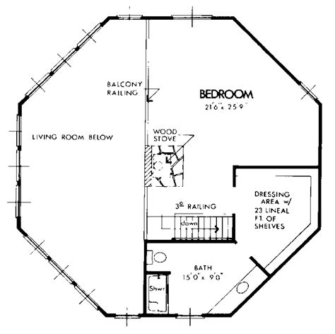 Small Octagon House Plans by Freesia Modern Home Plan 072d 1089 House Plans And More