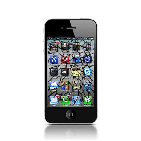 fix cracked iphone screen iphone 4s cracked screen repair cell phone fix usa mobile repair