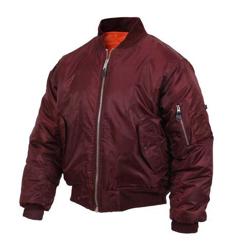 Bomber Jacket Maroon ma 1 maroon bomber jacket