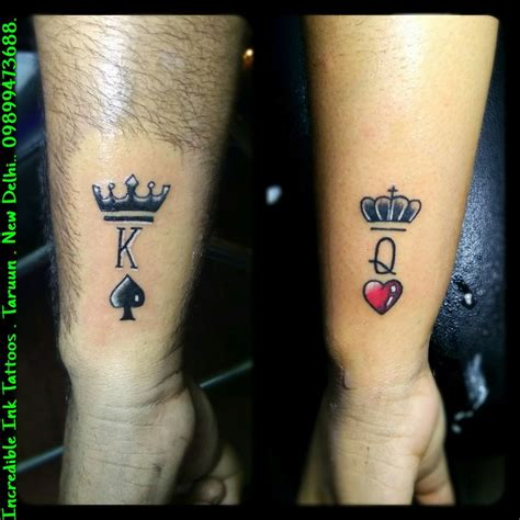 crown couple tattoos king crown king crown