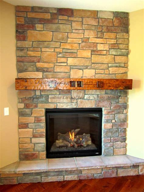 reclaimed wood fireplace mantel log mantels rustic