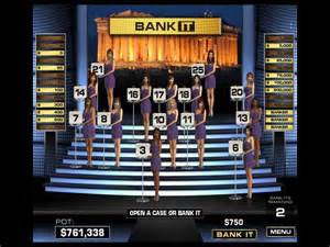 Deal or no deal gameplay