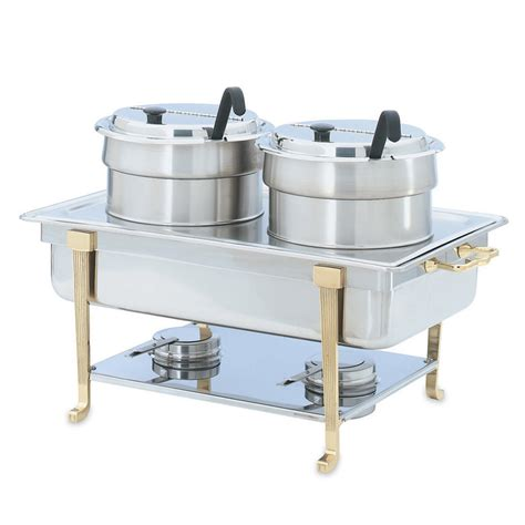 Vollrath 99880 Full Size Chafer Double Soup Buffet Buffet Accessories