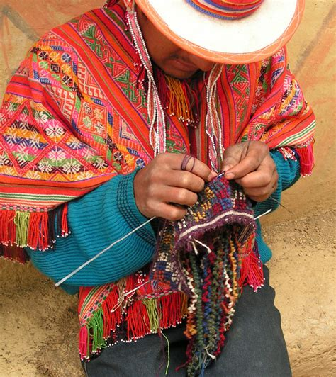 peruvian knitting handknitting peruvian hats in the highlands clothroads