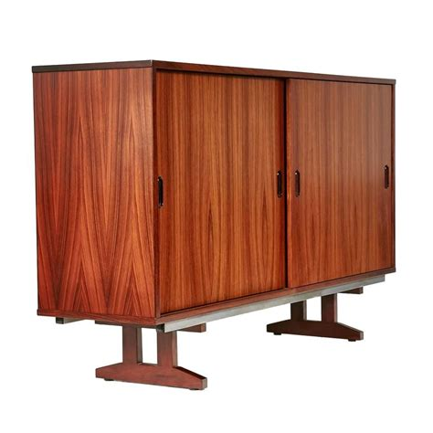 Office Cabinet With Sliding Doors 1960s Rosewood Sliding Door Office Cabinet Denmark For Sale At 1stdibs