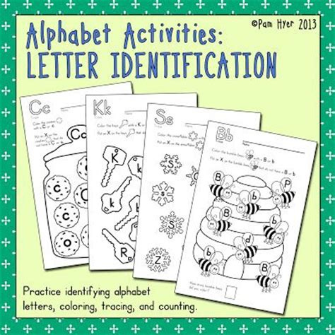 Letter Identification Worksheets by Pin By Clark Eils On Teaching