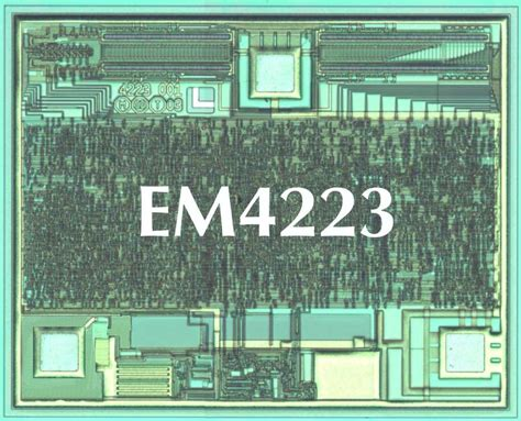 integrated circuit rfid em microelectronic has developed world s iso 18000 6a and epc code structure compliant uhf