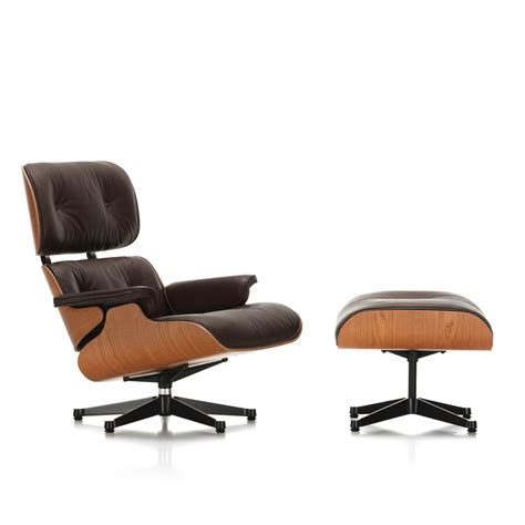 Lounge And Ottoman by Vitra Lounge Chair Ottoman Cherry Wood