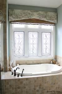 Bathroom Window Curtain Decor Window Treatments For Those Tricky Windows Driven By Decor