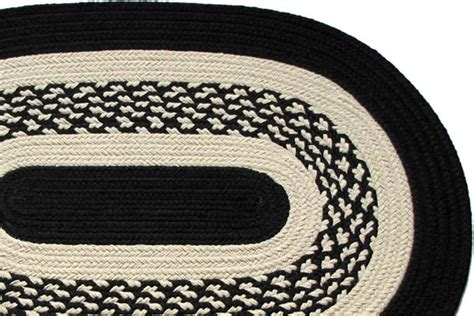 Black Braided Rugs by Boston Harbor Black Braided Rug