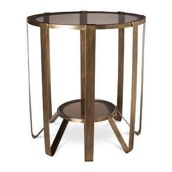 faux agate side table threshold glass faux agate accent table pink i target
