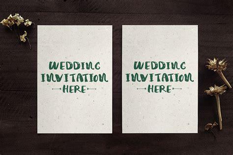 wedding invitation mockup wedding invitation mockups by klapauciusco thehungryjpeg