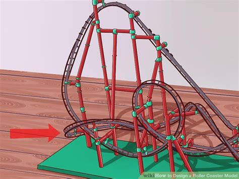 How To Make A Roller Coaster Loop Out Of Paper - how to design a roller coaster model with pictures wikihow