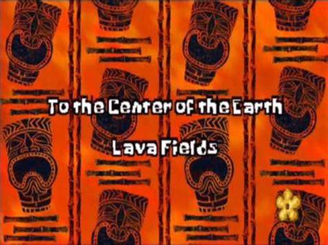 spongebob squarepants lava l lava fields trump