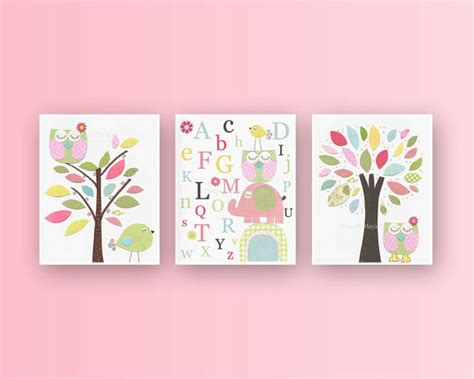 Nursery Decor Etsy Baby Room Ideas Nursery Wall Print For Baby
