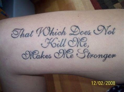 how to make tattoos not hurt that which does not kill me makes me stronger