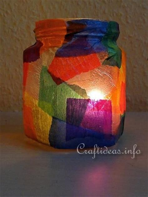 light crafts for 1000 ideas about tea light holder on tea