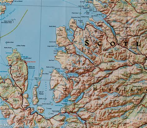 scotland mapping the nation map of scotland national geographic mapscompany