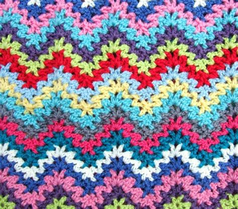 zig zag crochet pattern how to zig zag crochet crochet pinterest