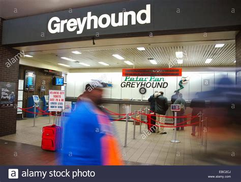 new york city greyhound ticket office at porth authority