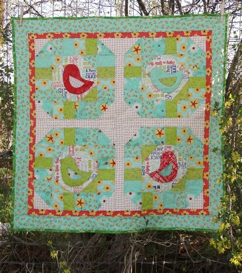Quilt Patterns With Birds by Early Bird Quilt Pattern