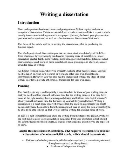msc dissertation exles msc dissertation sle pdf