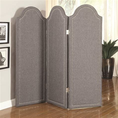 Coaster Dining Room Furniture by Grey Fabric Folding Screen Steal A Sofa Furniture Outlet