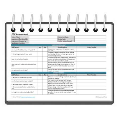 equipment risk assessment template equipment risk assessment template dse assessment form