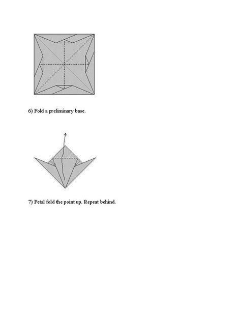 Origami Dragonfly Diagram - 17 best images about origami on origami