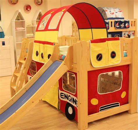 fire truck loft bed curtain children bunk bed curtain fire engine