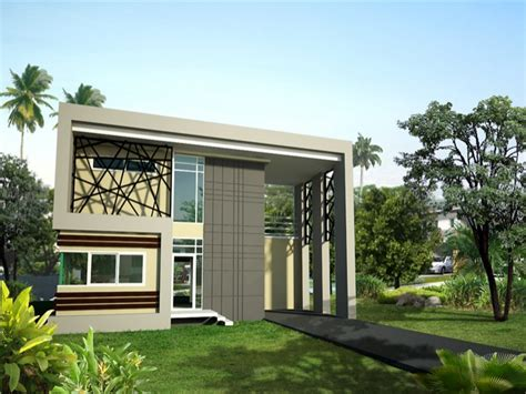one storey modern house design modern two storey house modern house design one storey modern house