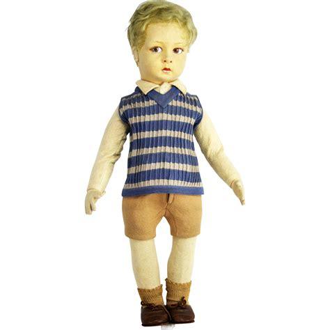 lenci boy doll vintage lenci cloth boy doll from frederickpine on ruby