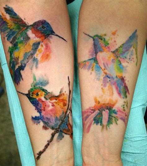 hummingbird with flower tattoo designs hummingbird tattoos