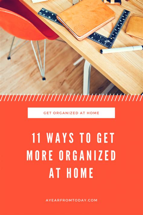 new year resolutions ideas get organized at home a