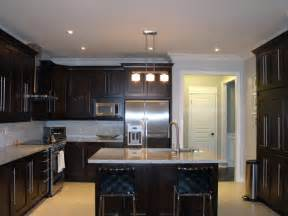 beautiful What Kind Of Paint For Kitchen Cabinets #3: Dark-Wood-Kitchen-Cabinets-Designs.jpg