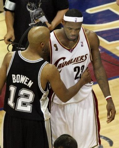 2007 Mba Finals by Postgame Conversation Between Duncan Lebron After