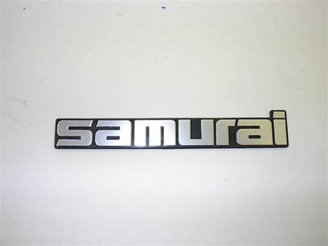 suzuki emblem samurai emblem trail tough