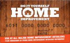 Do It Yourself Gift Card - buy do it yourself home improvement gift cards raise