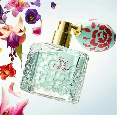 in color live in colour oriflame perfume a new fragrance for