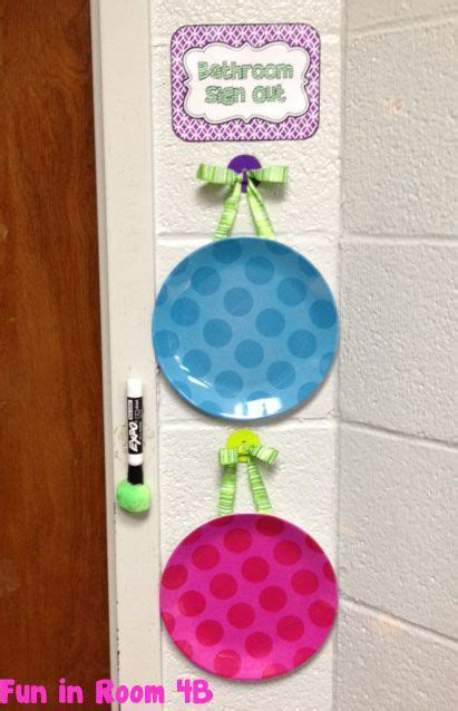 Bathroom Pass Ideas by 1325 Best Images About Classroom On