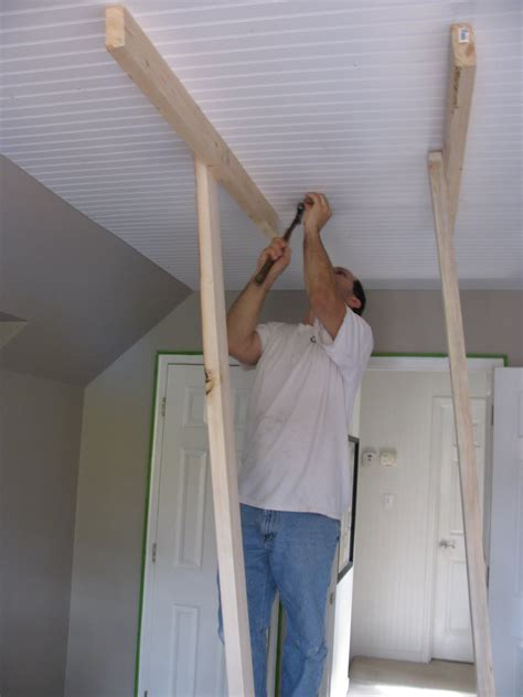 how to install beadboard on ceiling our creative beadboard on the ceiling are you serious