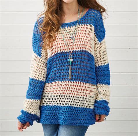 crochet pattern ladies jumper de 25 bedste id 233 er inden for crochet sweaters p 229